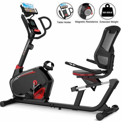 3. HARISON Magnetic Recumbent Exercise Bike – H8