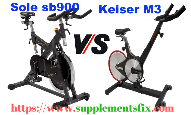 Sole sb900 vs keiser m3