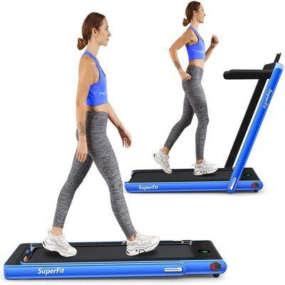 Goplus 2 in 1 Folding Treadmill